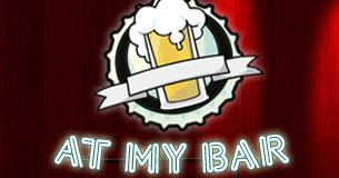 At my bar