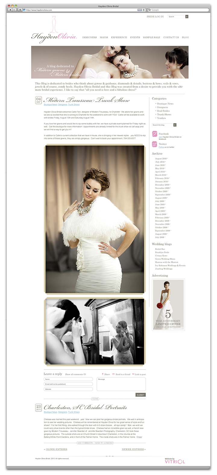 Hayden Olivia Bridal Blog